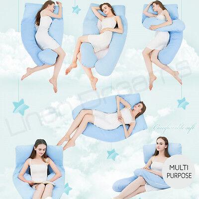 Aus Made Maternity Pillow Pregnancy Nursing Sleeping Body Support Feeding 6