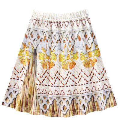 New Kids Costume Moana Princess Girl Cosplay Fancy Dress Deluxe Dress Xmas 3-10Y 5