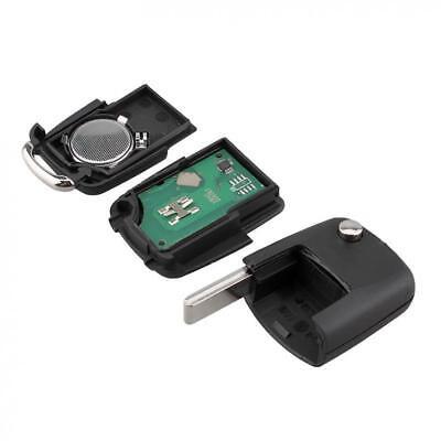 Flip Remote Key 2BTN Fob 434MHz ID48 1J0 959 753 AG for VW Bora Golf Polo Passat