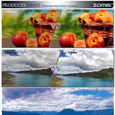 ZOMEI 40.5/49/52/55/58/62/67/72/77/82/86mm Slim UV Filter for Canon Nikon Camera