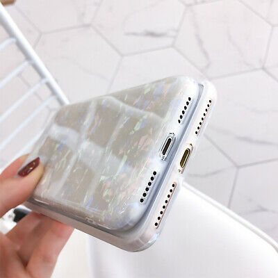 For iPhone 8 7 Plus XS MAX XR Marble Shockproof Silicone Soft Phone Case Cover 10