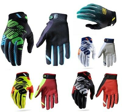 Full Finger Glove Racing Motorcycle Gloves Cycling Bicycle MTB Bike Riding Men@
