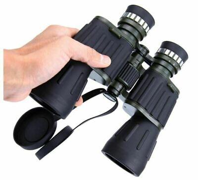 60x50 Day/Night Military Army Zoom Optics Hunting Camping Powerful Binoculars 10