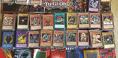 YU-GI-OH COLLECTION YUGIOH CARDS LOT 50+ Cards SECRET HOLO RARE FREE SHIPPING 5