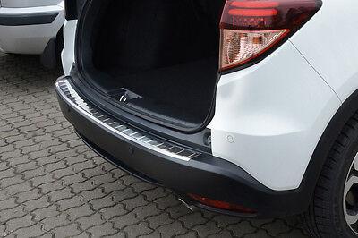 Ladekantenschutz für Honda HR-V 2 II RU 2015-2018 mit Abkantung Edelstahl