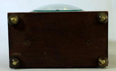 Antique French 8 Day Mahogany And Boxwood Stringing Mantle Clock 9