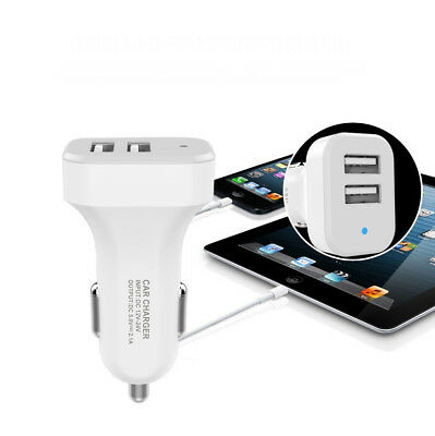 chargeur tel voiture smartphone usb allume cigare double cable iphone samsung .. 6