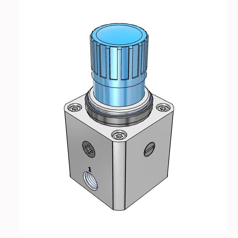 H● FESTO LRP-1/4-0,7 Precision Pressure Regulator 159500 3