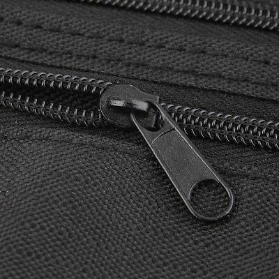 Black Travel Waist Pouch for Passport Money Belt Bag Hidden Security Wallet Us 5