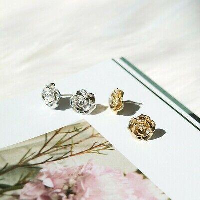 LEEVE Rose Gold Dipped Stud Earring Sterling Silver Post Korean trend Minimalism 3