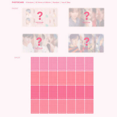 BTS Bangtan Boys JIMIN Official Photocard MAP OF THE SOUL:PERSONA Select Card 3