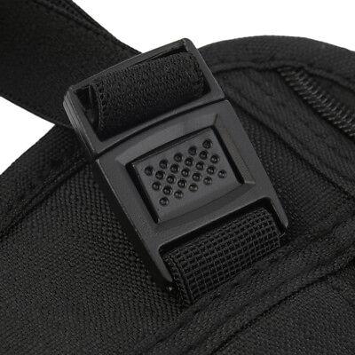Black Travel Waist Pouch for Passport Money Belt Bag Hidden Security Wallet Us 4