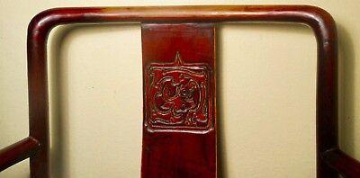 Antique Chinese Ming Arm Chair (2775), Cypress/Elm, Circa 1800-1849 3