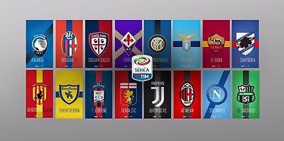 Italie Patch badge Serie A  maillot de foot Juventus Napoli Roma Milan AC 08//10
