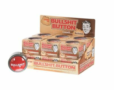 Bullshit alert button funny desktop buzzer joke novelty secret santa