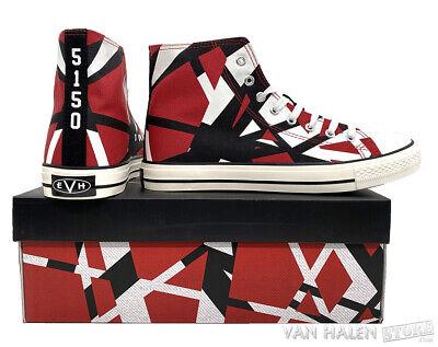 Official EVH Red High Top Sneakers Eddie Van Halen ALMOST GONE New LTD ED, OOP 4