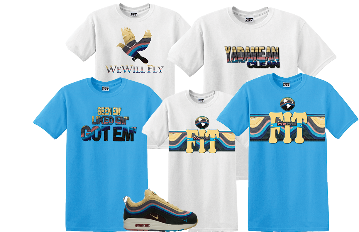 e6fa1fdd We Will Fit shirt for NIKE AIR MAX 1/97 VF SW SEAN WOTHERSPOON airmax 2 2  of 3 See More