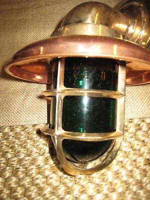 PAIR Port /& Starboard ship lights Medium Bronze 90 degree Passageway lights