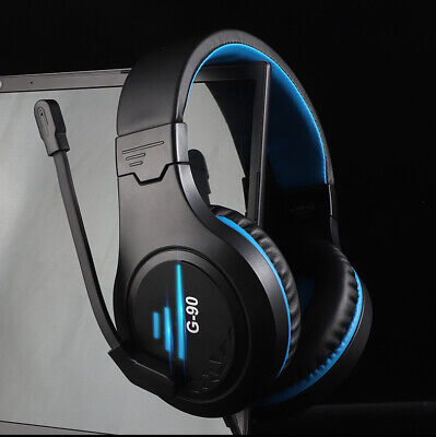 Pro Stereo Surround Live Gaming Chat Headset For PS4 Wii XBOX One Switch 3