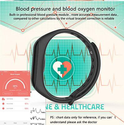 Smart Watch Braccialetto Contapassi Cardiofrequenzimetro MISURATORE DI PRESSIONE