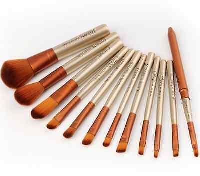 Pro 12pcs Makeup Cosmetic Brushes Set Powder Foundation Eyeshadow Lip Brush Tool 6