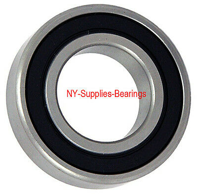 32mm X 75mm X 20mm 1 pc Quality 63//32-2RS Two Side Rubber Seal Ball Bearings