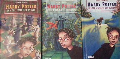 Harry Potter Büchersammlung Band 1-7 komplett, deutsch, gebunden, guter Zustand 4