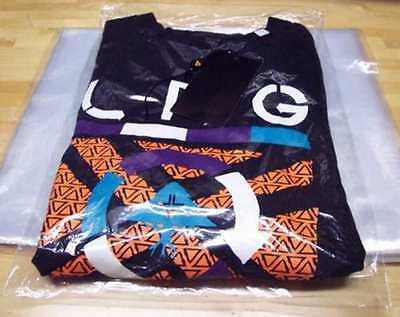 "9x12-12x15-12x16 Poly T Shirt Clear Plastic Bags 2""-3"" Flap25-50-100-200-300-500 3"