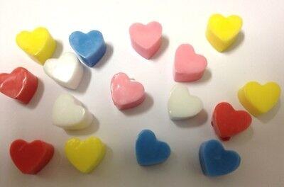 MINI HEARTS 55 Cavities Silicone Mould: Soap Ice Chocolates tray mold