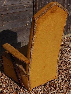 Delightful Vintage Low Seated Nursing Chair - Barley Twist Arms