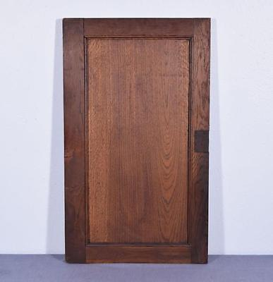 *Large French Antique Deeply Carved Architectural Panel Door Solid Oak Romantic 12