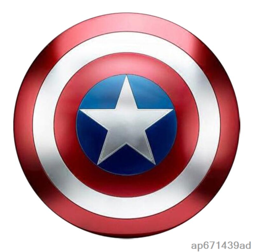 Avengers 4 Captain America Metal Full Shield Cosplay Props Decor Gifts 47.5cm 3
