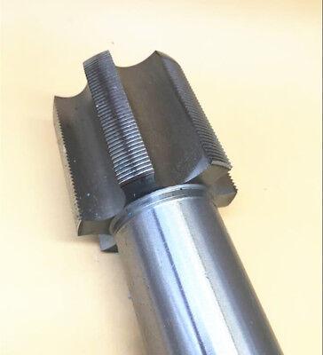 1pcs 27mm x 2.0 Metric HSS Right hand Thread Tap M27 x 2.0 mm High quality