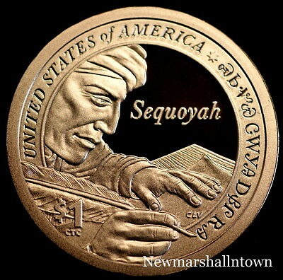 2017 P+D+S Native American Sacagawea Set ~ Proof & PD Pos A+B from Mint Rolls 2