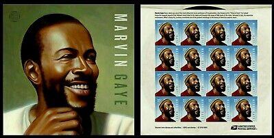 Marvin Gaye 2019 Us #5371 Music Legend 16 Forever Mnhxf Stamp Sheet Po Fresh Nip 3