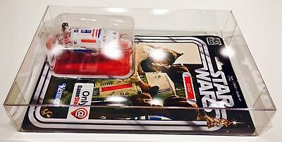 1 Clear Protector For R5-D4 ONLY!  STAR WARS 40TH Anniversary Display Case Box 5