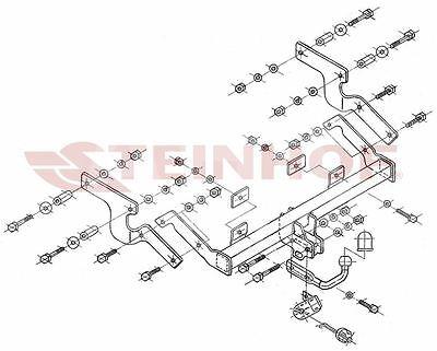 Citroen Xsara Picasso 5P 99-04 Attelage fixe+faisceau 7 broches