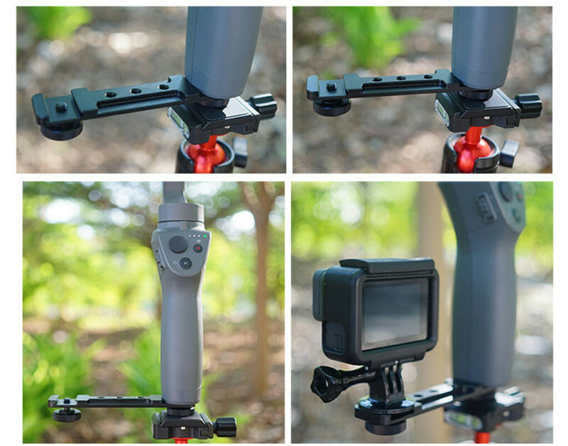 For DJI Osmo Mobile 2/3 Handheld 3Axis Gimbal Stabilizer Holder Smartphone 4