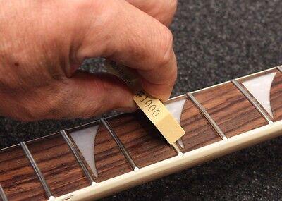 Amazing Guitar Fret Polishing Erasers Full Set 180 / 400 / 1000 Made In Japan 4