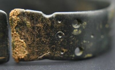 Ancient Bactrian bronze decorated bracelet C. 500 BC 2