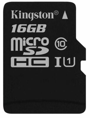 Kingston Technology 16GB Micro SD SDHC TF Select memory card Class 10 UHS-I 5