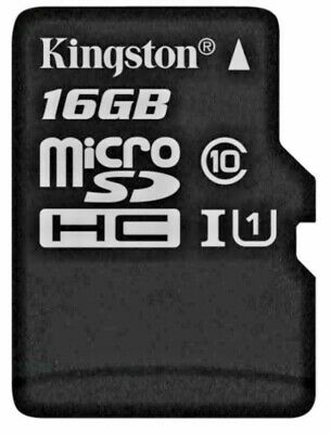 Kingston Technology 16GB Micro SD SDHC TF Select memory card Class 10 UHS-I 3