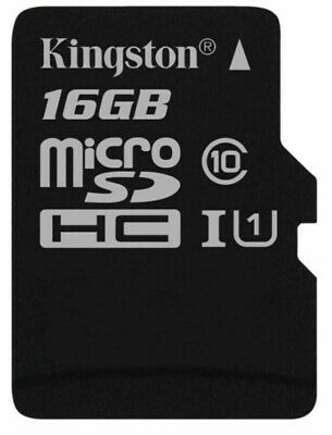 Kingston Technology 16GB Micro SD SDHC TF Select memory card Class 10 UHS-I 2