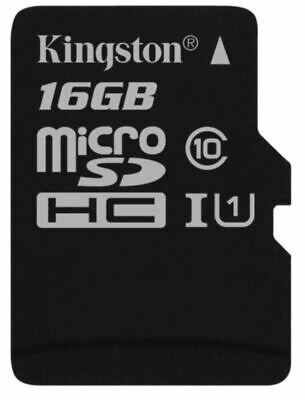 Kingston Technology 16GB Micro SD SDHC TF Select memory card Class 10 UHS-I 8