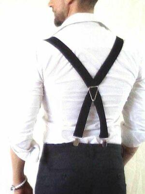 Bretelle 4 Clips Uomo Donna Fl Italy Enjoy The Moment Regolabili Suspenders Gk6 3
