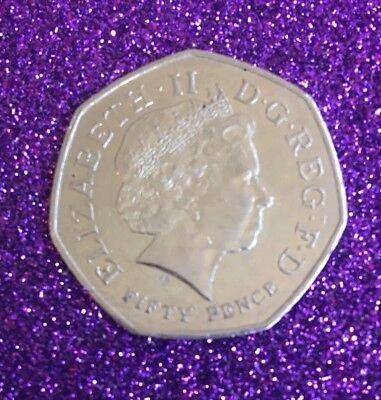 2011 Wwf 50P Coin 3