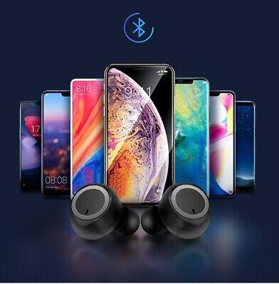 Stylish stereo sound headset wireless twins earbuds earphones Bluetooth 5.0 w1 3