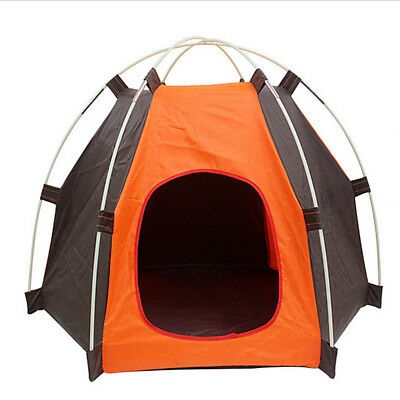 Portable Pet Tent Puppy Dog Pet Cat Outdoor Camping Sun Shelter Waterproof House 3