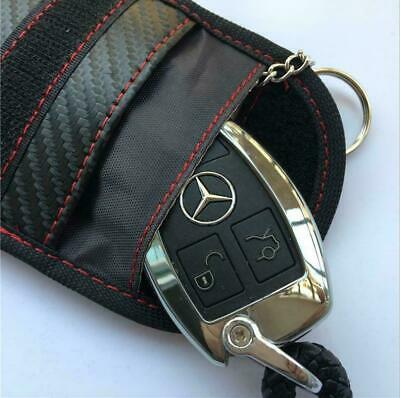 Car Key Signal Blocker Pouch Case FOB Fraday Bag RFID Security Blocking New UK 3