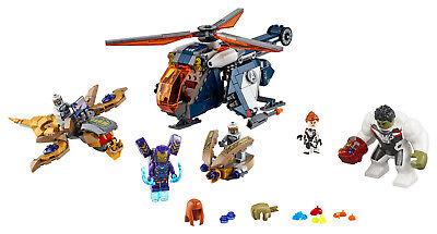 LEGO Super Heroes 76144 Avengers Hulk Helikopter Rettung Black Widow 6